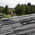 Installation Sonnenkollektoren