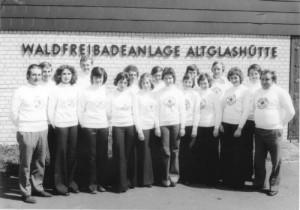 Gründung 1972 mit 30 Mitgliedern